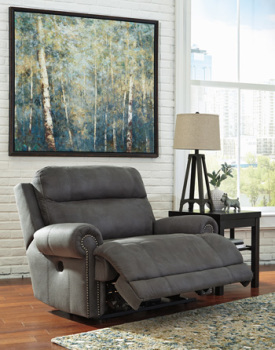Fabulous Ashley 3840181 2 Seat Reclining Sofa Austere Reese Pdpeps Interior Chair Design Pdpepsorg