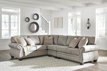 Ashley Armless Chair/Olsberg/Steel