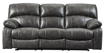 Ashley PWR REC Sofa with ADJ Headrest