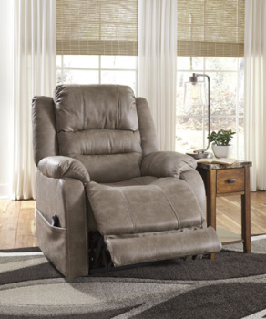 Ashley Power Recliner/ADJ Headrest