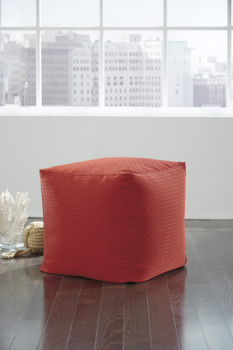 Model: A1000253 | Ashley Pouf/Sylas/Red