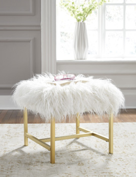 Ashley Stool/Elissa/White