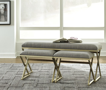 Ashley Accent Bench Set (3/CN)