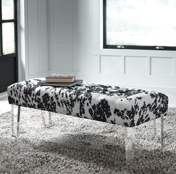 Ashley Accent Bench/Brooklee