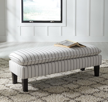 Ashley Accent Bench/Arrowrock
