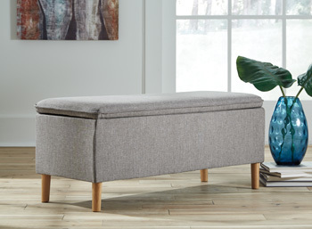 Ashley Accent Bench/Kaviton/Gray
