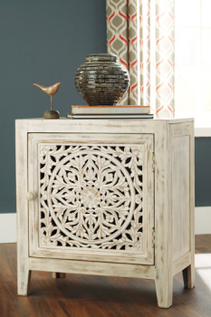 Ashley Accent Cabinet/Fossil Ridge