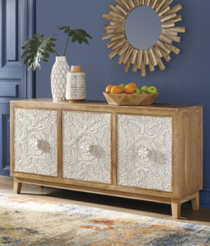 Ashley Accent Cabinet/Lorenburg