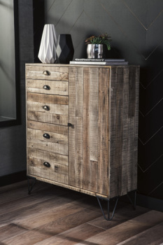 Ashley Accent Cabinet/Camp Ridge
