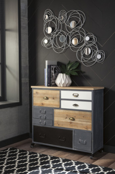 Ashley Accent Cabinet/Ponder Ridge