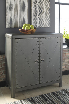Ashley Accent Cabinet/Rock Ridge