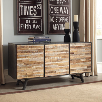 Ashley Accent Cabinet/Forestmin/Multi