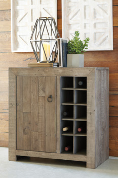 Wine Cabinet/Forestmin/Gray