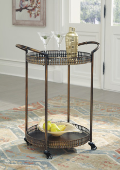 Ashley Bar Cart/Clarkburn
