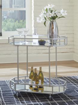 Ashley Bar Cart/Kadinburg