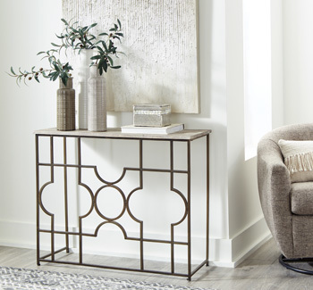 Ashley Console Sofa Table/Roelsen