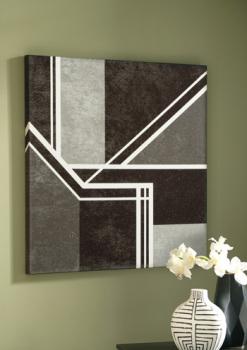 Wall Art/Ely/Black/White