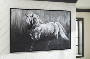 Ashley Wall Art/Victor/White/Black