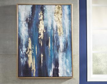 Ashley Wall Art/Dinorah/Teal Blue