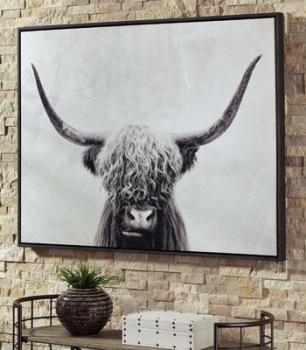 Wall Art/Pancho/Black/White