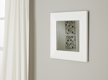 Ashley Accent Mirror/Odelyn/White