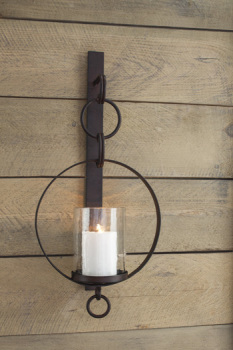 Ashley Wall Sconce/Ogaleesha/Brown