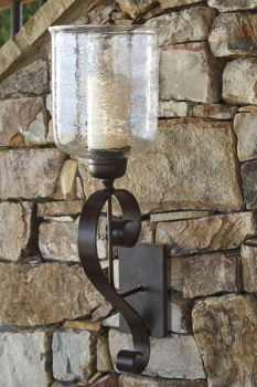 Ashley Wall Sconce/Ogilhinn/Brown