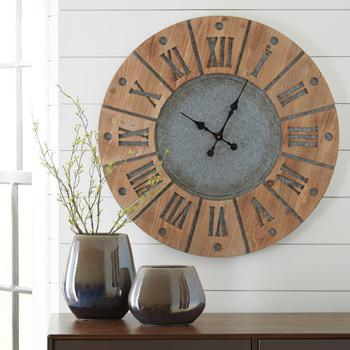 Ashley Wall Clock/Payson