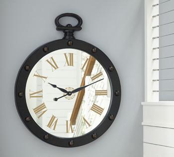 Ashley Wall Clock/Juan/Brown