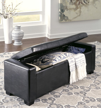 Ashley Upholstered Storage Bench