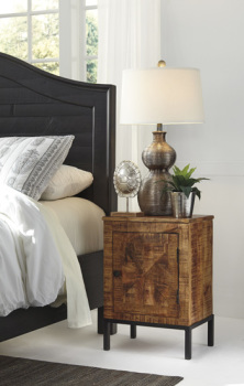 Ashley Door Night Stand/Charlowe