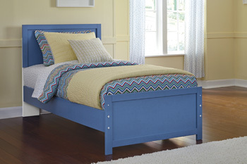 Ashley Twin Panel Footboard/Bronilly
