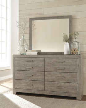 Model: B070-36 | Ashley Bedroom Mirror/Culverbach/Gray