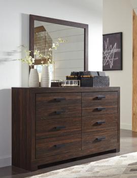 Bedroom Mirror/Arkaline/Brown