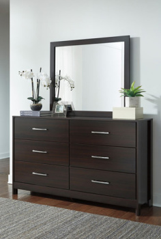 Bedroom Mirror/Agella/Merlot