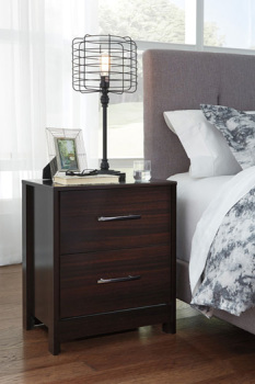 Ashley Two Drawer Night Stand/Agella