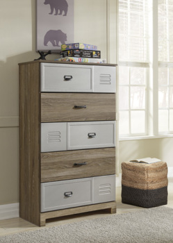 Ashley Five Drawer Chest/McKeeth
