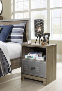 One Drawer Night Stand/McKeeth