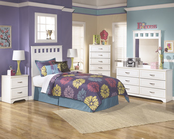 Ashley Two Drawer Night Stand/Lulu
