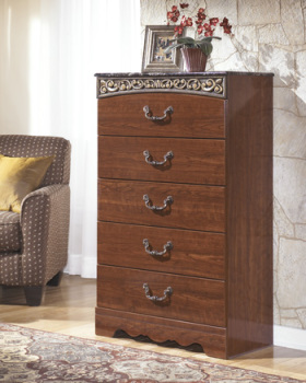 Ashley Five Drawer Chest