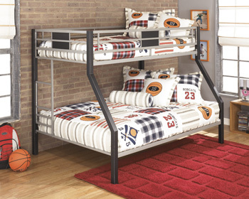 Ashley Twin/Full Bunk Bed w/Ladder