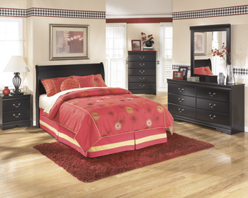 Ashley Full Sleigh Headboard