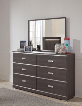 Ashley Bedroom Mirror/Annikus/Gray