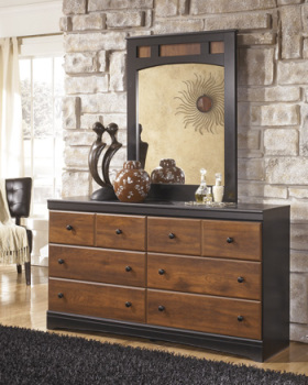 Ashley Dresser/Aimwell/Dark Brown