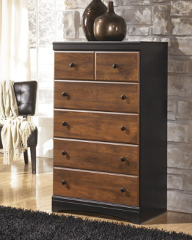 Ashley Five Drawer Chest/Aimwell