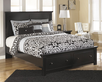 Ashley Q Platform Storage Footboard