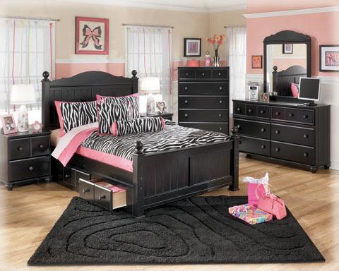 Ashley Under Bed Storage/Jaidyn/Black