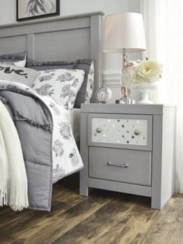 Ashley Two Drawer Night Stand/Arcella