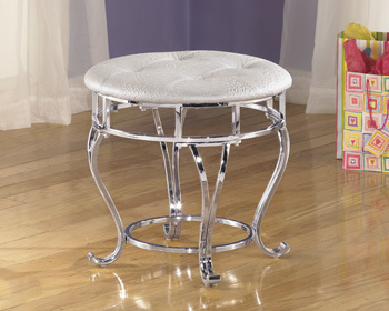 Ashley Upholstered Stool (1/CN)