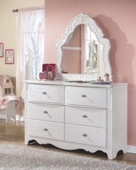Ashley French Style Bedroom Mirror